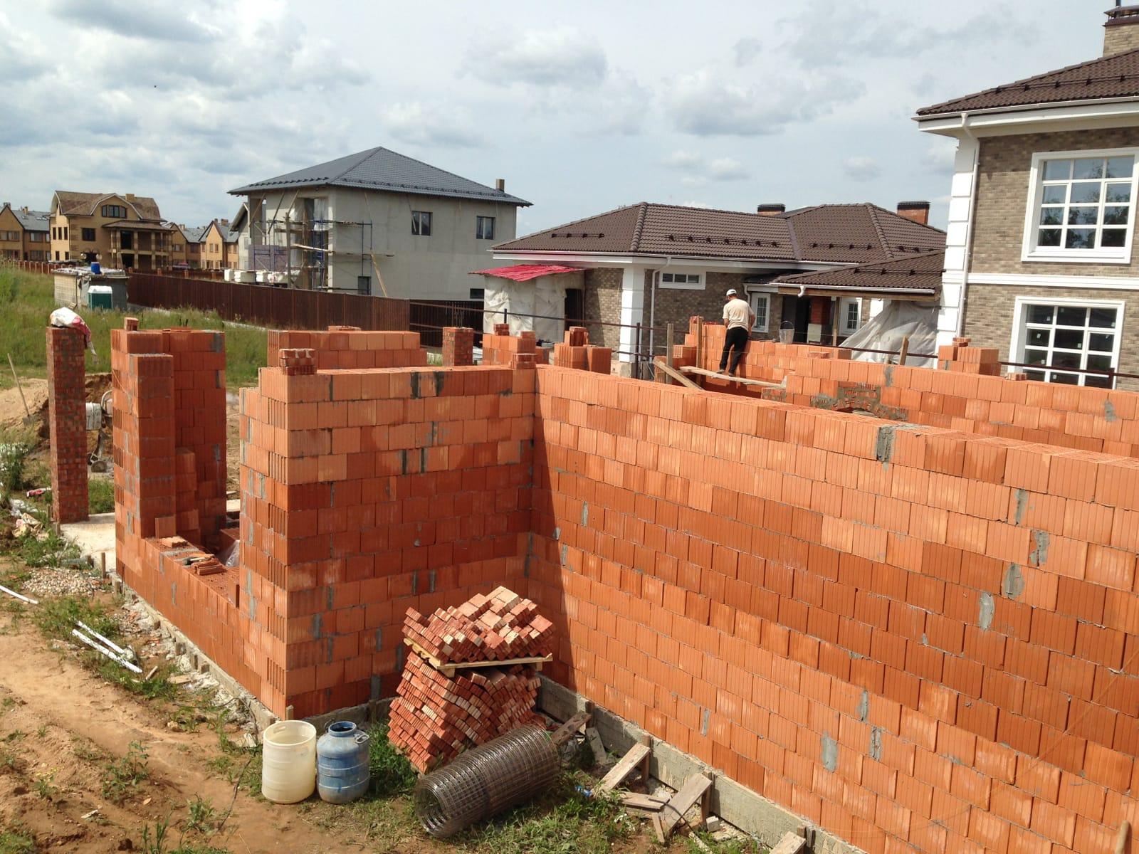 Строительство дома из теплой керамики своими руками 27
